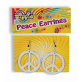 Hippie Peace Earrings 6688