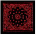 Trainmen Bandana Black/Red 1980