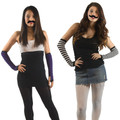 Fake Bulk Mustaches | 12 PACK 1618