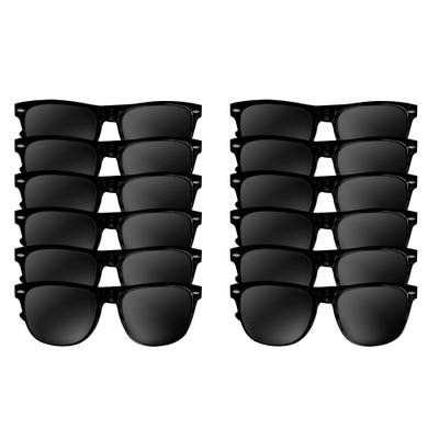 Dozen black wayfarers
