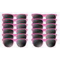 Light Pink Sunglasses Adult 12 PACK 1074D