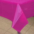 "Plastic Tablecloths Rectangle Bright Colorful 54 x 108"" 3876-3882"