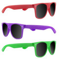 80's Style Sunglasses | 12 PACK Mixed Colors 1050D