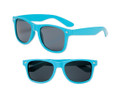 Turquoise Blue Sunglasses | Iconic 80's Style | Adult Size 12 PACK 1057D