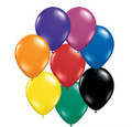 Assorted Jewel Tones Balloons 100pcs 3875
