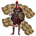 Bronze Roman Breastplate with Cape 12 PACK 4506D
