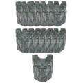 Silver Roman Breastplate 12PK 4510D