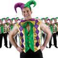 Mardi Gras Multicolor Vest 12 PACK 4488D