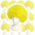 Yellow Afro Costume Wig 12 PACK 6011D