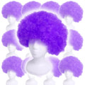 Purple Afro Costume Wig 12PK  6014D