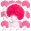 Pink Afro Costume Wig 12 PACK 6015D