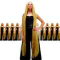 Extra Long 60 Inch Blonde Wig 12PK  6025D