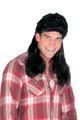 Black Mullet Wig 12PK 6040D