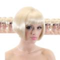 Blonde Bob Supermodel Wig 12PK 6043D