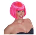 Pink Bob Supermodel Wig 12PK  6045D