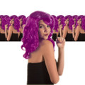 Purple Glamour Wig Dozen 6067D