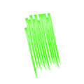 Green Hair Extensions 12 PACK 6151D