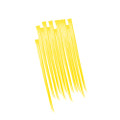 Yellow Hair Extensions 12PK 6153D