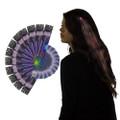 Red Starlight Fiber Optic Hair Extensions 12PK 6160D