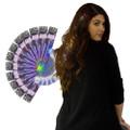 Rainbow Starlight Fiber Optic Hair Extensions Dozen 6164D