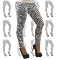 Zebra Print Leggings Dozen 8017D
