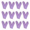 "Short Dress Gloves Lavender Satin 9"" 12 PACK 1207D"
