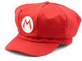 Super Mario Bros Costume Hat Red Adult 1452