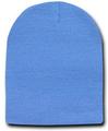 Short Beanie Hat Sky Blue 5743