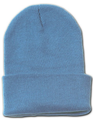 Long Beanie Hat Sky Blue 5768