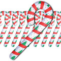 Candy Cane Inflates Bulk 12 PK 4 FT Tall 9224D