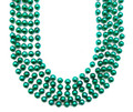 Mardi Gras Beads Green 12mm Bulk 12 PK 9901