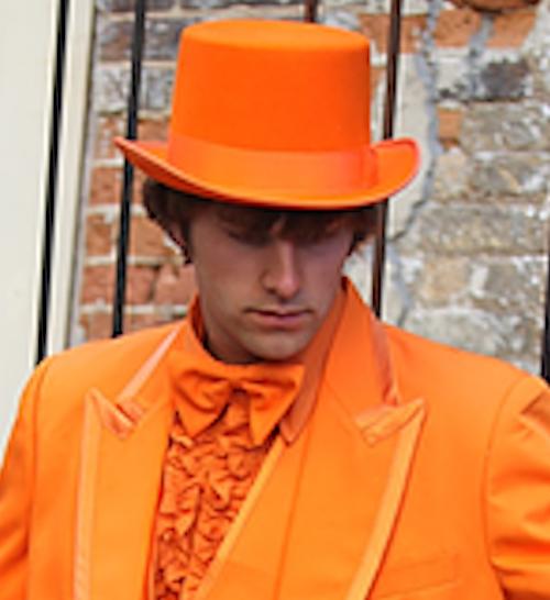 44853116 Bulk Orange Top Hats | Privateislandparty.com