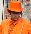 Orange Top Hats | 1356