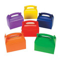 Treat Boxes Assorted Colors Bulk 3907D