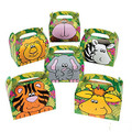Zoo Animal Treat Gift Boxes 12 PACK 3909D