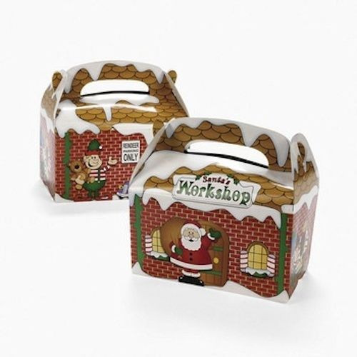 Categories. Home · Wholesale  sc 1 st  Private Island Party & Santau0027s Treat Boxes Gift Boxes Cheap | Christmas Treat Boxes Wholesale