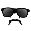Black Mustache Adult Style Sunglasses 12 PACK WS7095D