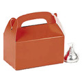 Mini Orange Treat Boxes Bulk 24 PK 3941D