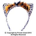 Leopard Ears Headband 12 PACK WS1722D