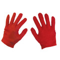 12 PACK Child Red Costume Gloves Polyester WS5033D