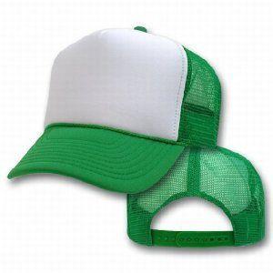 Bulk Dozen Kelly Green Trucker Caps  da7691b8e0f