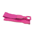 Wild Pink Lauper Style 80's Elastic Frill Belt  12 PACK WS2408D