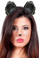Black Cat Ears 12PK WS1677D