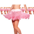 Pink Petticoat Wholesale | Pink Petticoat Bulk | Double Layer Tulle  12 PACK WS8219D