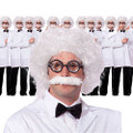 Einstein Wig and Mustache 12 PACK WS6021D