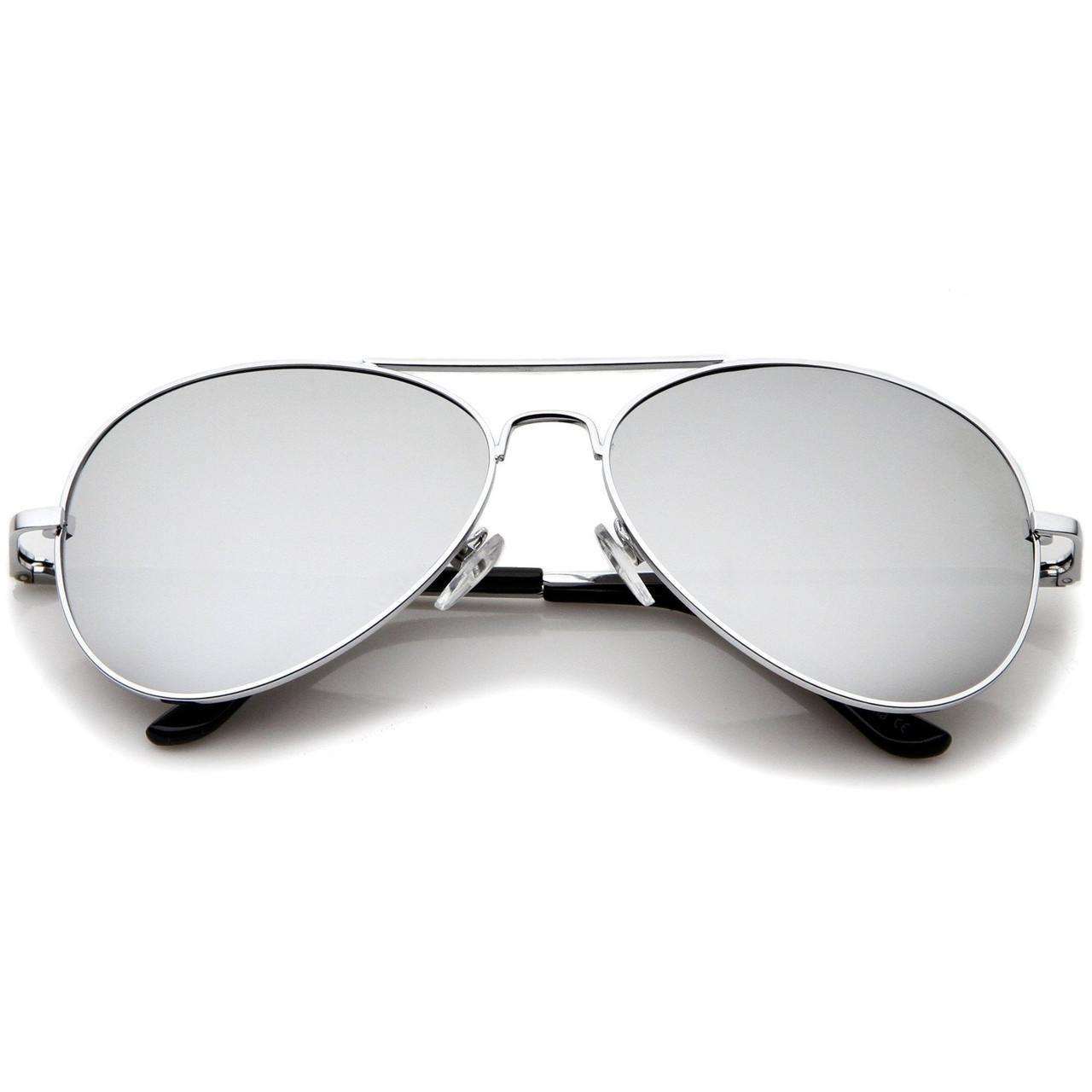 0174b2f1022b1 Bulk Silver Aviator Sunglasses