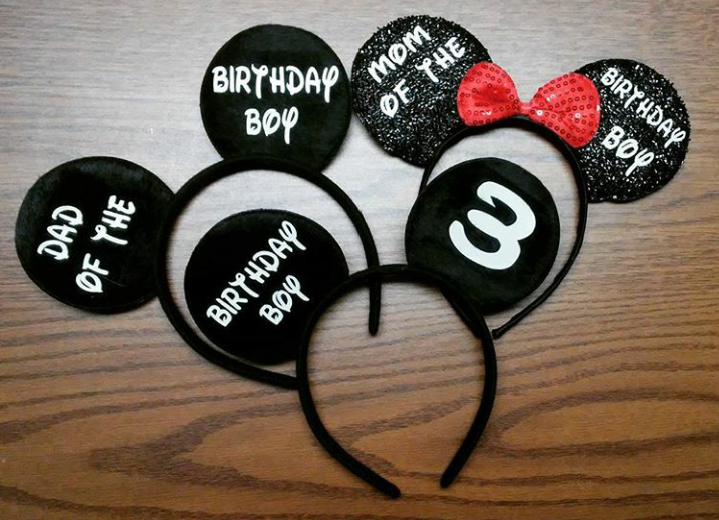 24caa755f6ce4 Customized Mickey Mouse Ears