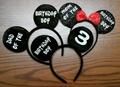 Disney World Ears Customized, Mickey Mouse Ears, Mickey Mouse, Disney Ears, MInnie Ears, Mickey Costume Ears, MInnie Costume Ears, Disney Mickey Mouse