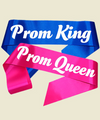 Prom Queen Sashes, Personalized For Bridal Party, Wedding Party, Bachelorette, Prom or Homecoming 60""