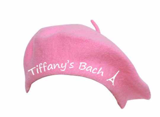 990908fe00911 Personalized Beret, Customized or Monogrammed Beret, Valentines Gifts,  Romantic Gifts, French Beret Hat (Fonts in Picture Gallery)